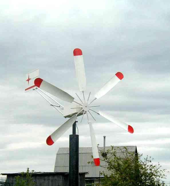 Самодельные ветрогенераторы для дома своими руками из ...