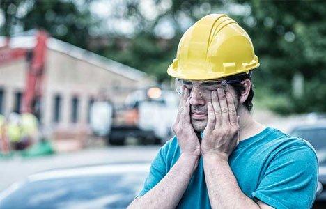 work injuries lack of sleep
