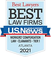 Sadow & Froy 2021 Best Law Firm Award