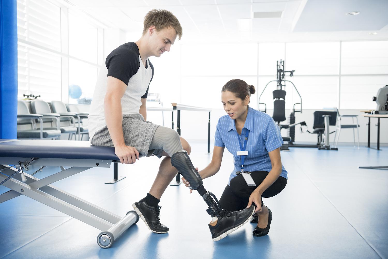 Rehab is key with post-amputation prosthetics