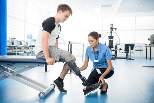 Rehabilitation is key for successful use of post-amputation prosthetics
