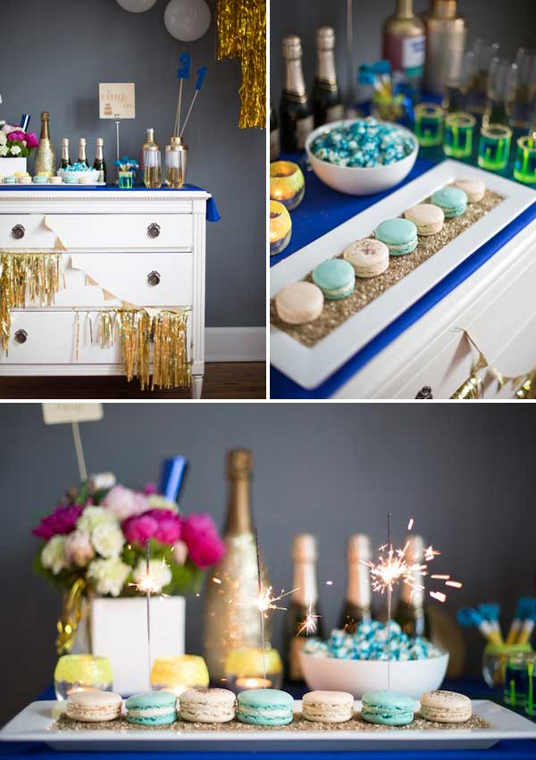 40 Diy Ways To Host The Best New Year S Party Ever Part