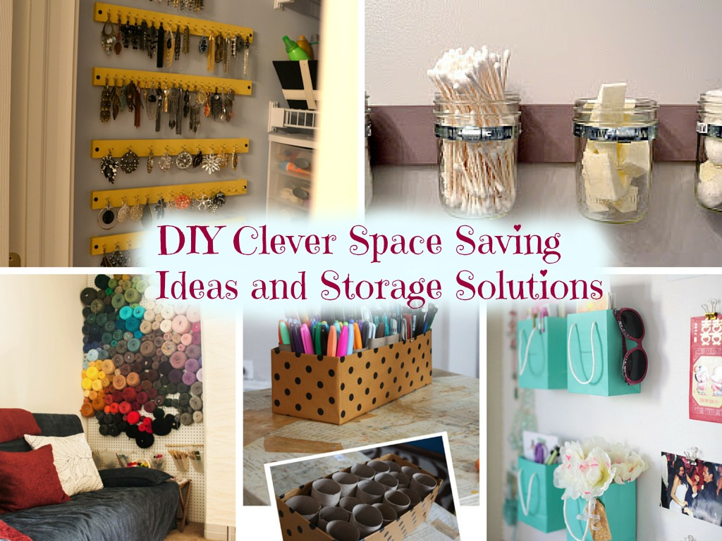 10 DIY Clever Space Saving Ideas And Storage Solutions