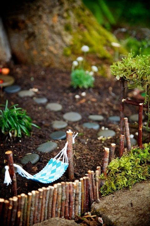 Magical DIY Fairy Garden Ideas : Small Garden Ideas For ... on Magical Backyard Ideas id=86688