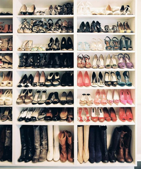 Image result for how to organise your shoes