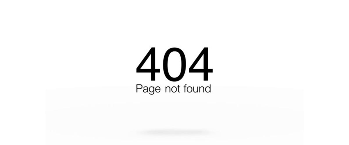 Page not found -