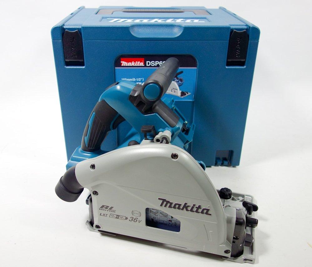 Makita Akku-Tauchsäge 1200 Watt, 36 Volt DSP600ZJ Handkreissäge mit Tauchfunktion