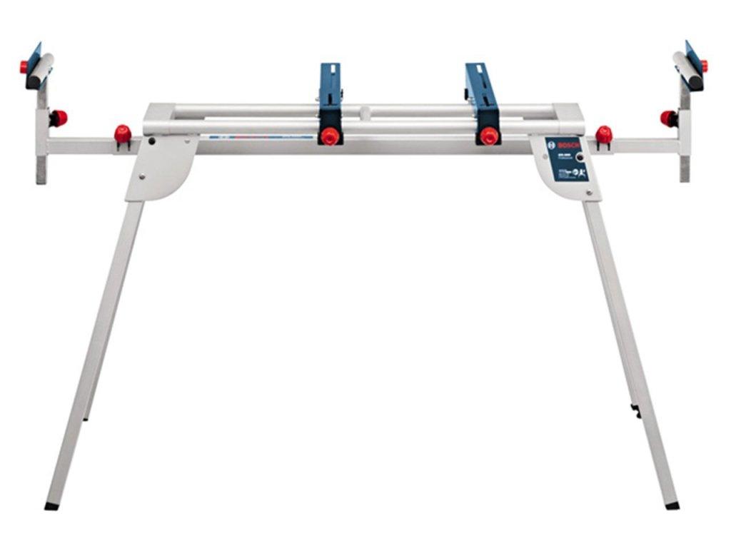 Bosch Professional GTA2600 +GTA 2600 Untergestell für GCM GTM, Türkis, Weiß