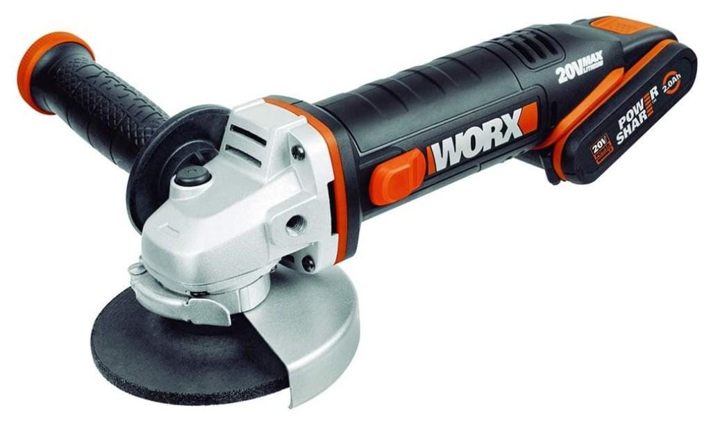 WORX WX800 Li-Ion Akku-Trennjäger Flex Winkelschleifer 20V-min