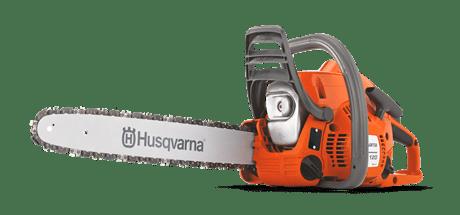 Kleine Husqvarna HUSQ120-14 120 II Motorsäge, benzinbetrieben, 35 cm Schwert, 1,9 PS