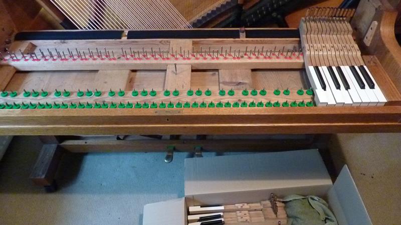 Bevilting klaviertafel
