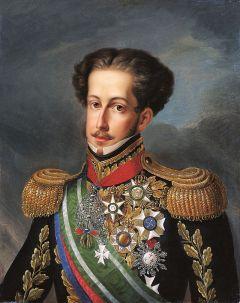 Pedro I do Brasil, retrato por Simplício Rodrigues de Sá, 1830