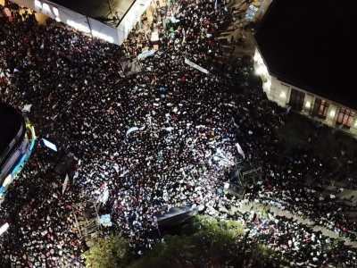 """Mauricio Macri en Sáenz Peña: """"Estamos juntos para defender el futuro que todos soñamos"""""""