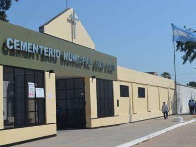 El cementerio de Sáenz Peña tendrá horarios especiales en el Día del Padre