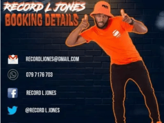 Record L Jones Khwela Khwela ft Slenda Vocals Mp3 Download SaFakaza