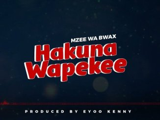 Mzee Wa Bwax – Hakuna Wapekee