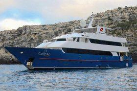 Яхта Calipso. Дайвинг на Галапагосских островах