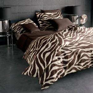 Brown Zebra Bedding Safari Bedding