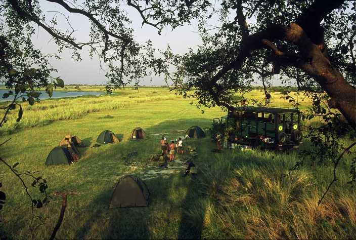 Expedición en el Okavango