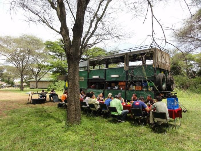 Comida - Safari en Camión