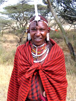 Guerrero Masai. Kenya. Agosto de2005