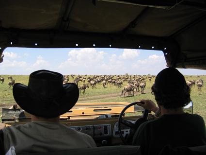 Abriendo paso. Kenya, septiembre de 2005