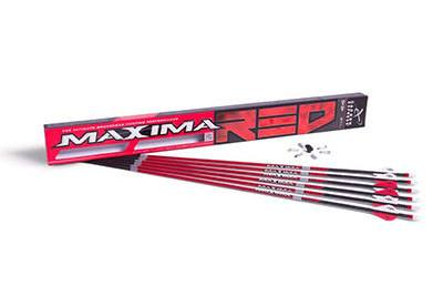 Carbon Express Maxima RED Fletched Carbon Arrows