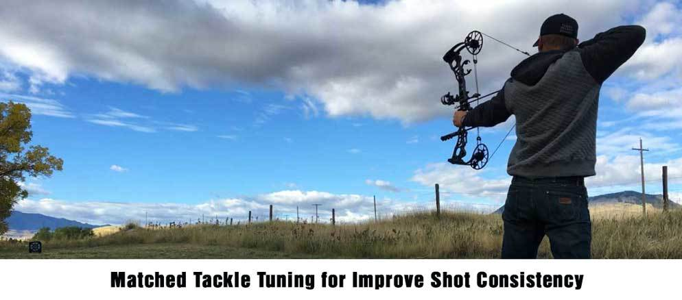 Matched Tackle Tuning for Improve Shot Consistency