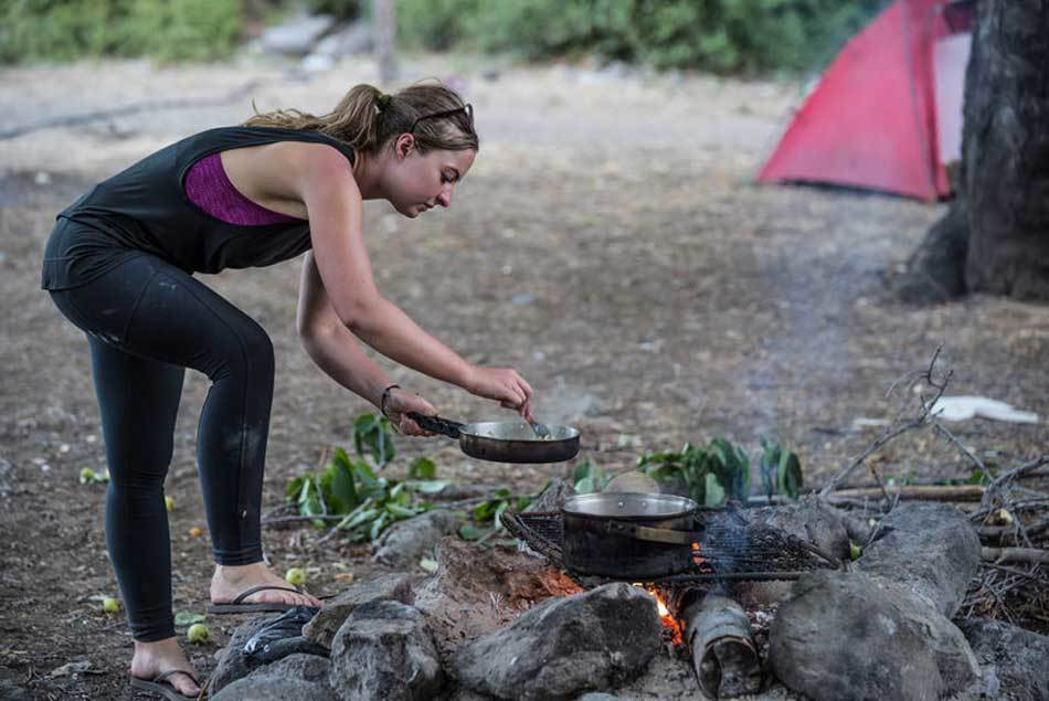 Simple injuries and ailments in camping