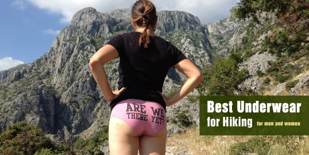 Best Underwear for Hiking for men and women