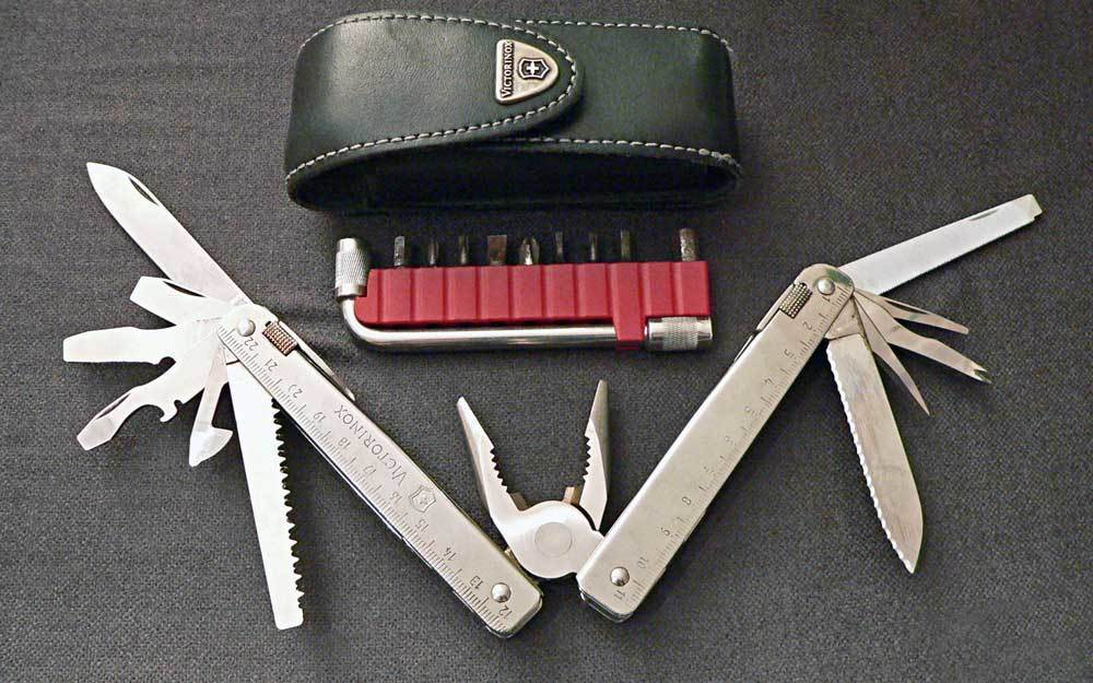 Swiss Army knife for Lighter Camping