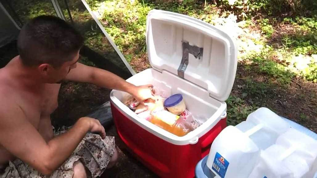 Finding Ice to Use in Camping Food Storage