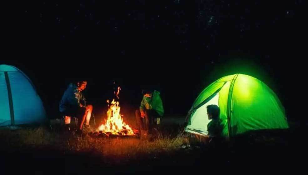 Heat a Tent While Camping