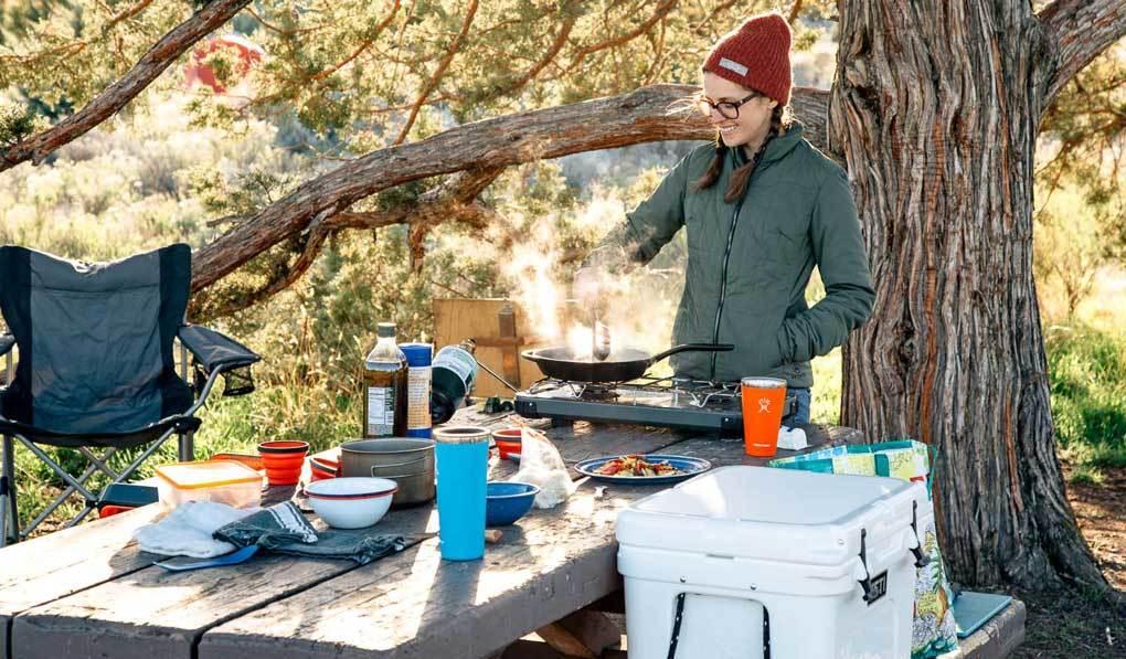 proper camping food storage