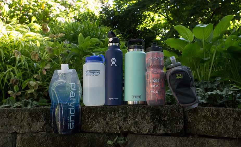 Carrying Water in Hard Bottles