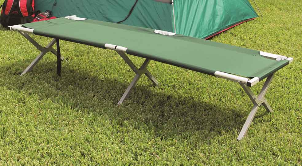 Camp Cots for Camping