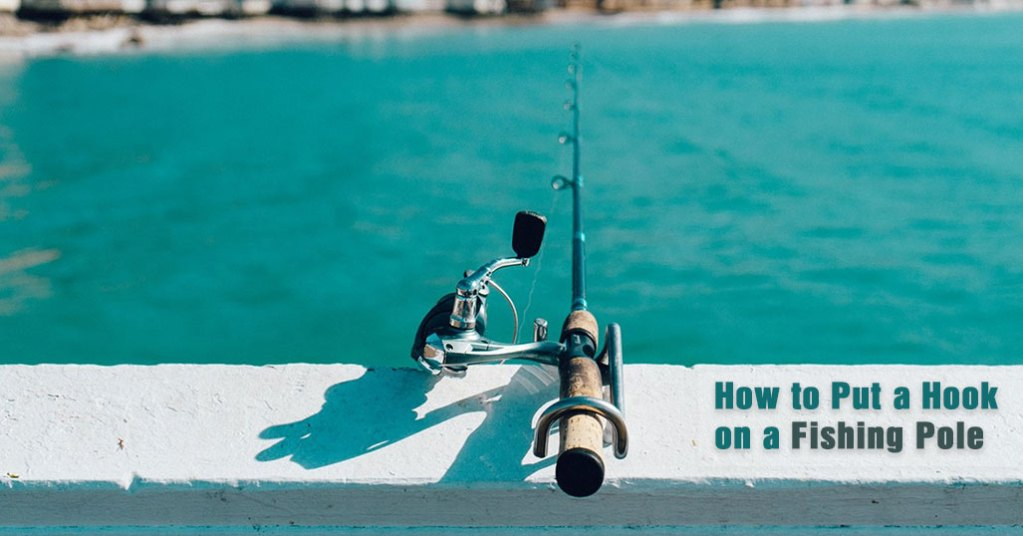 How to Put a Hook on a Fishing Pole