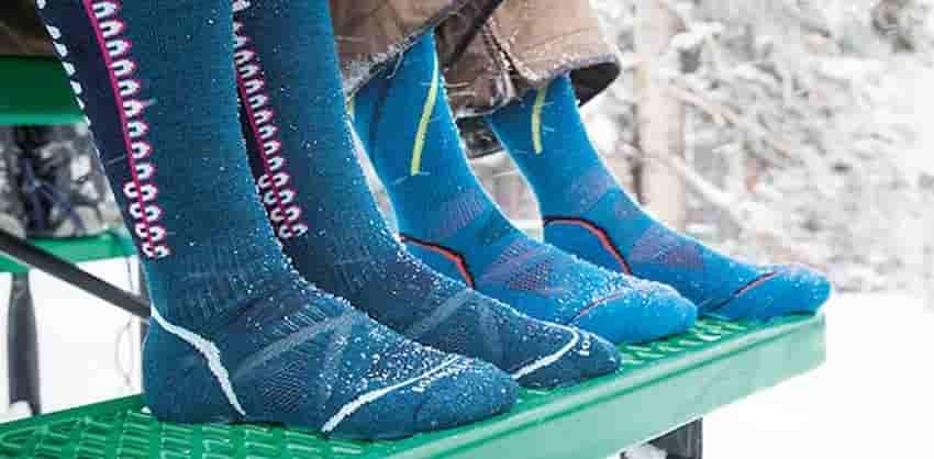 warmest socks for winter