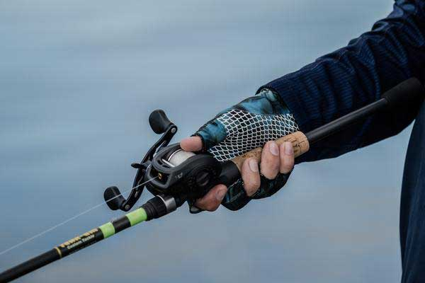 Focus on the rod, not the reel
