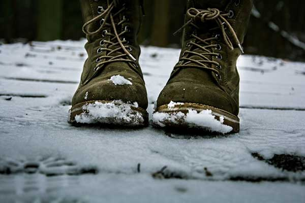 Q. What is the difference between a pair of snowmobile boots and a pair of regular boots?