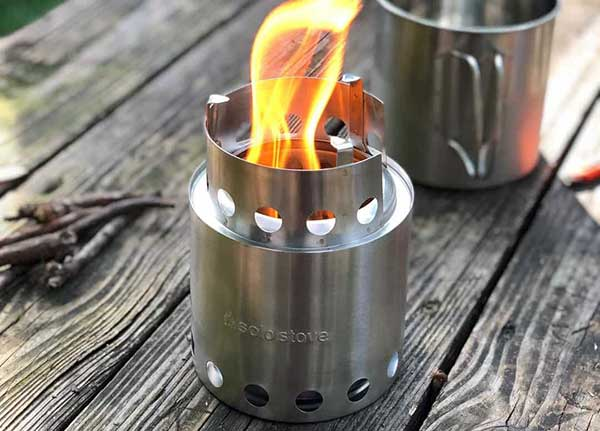 What is a Wood Burning Camping Stove