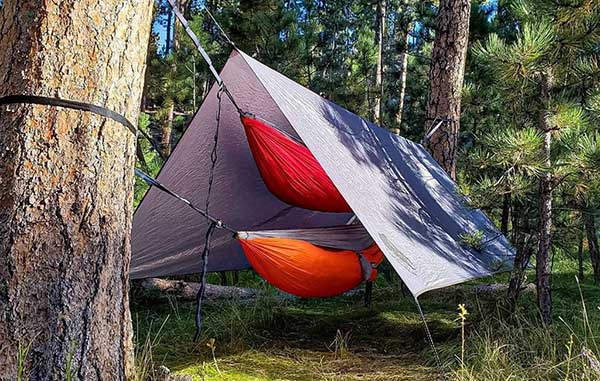 What is it Made of? Check Material of the Hammock Camping Tarp