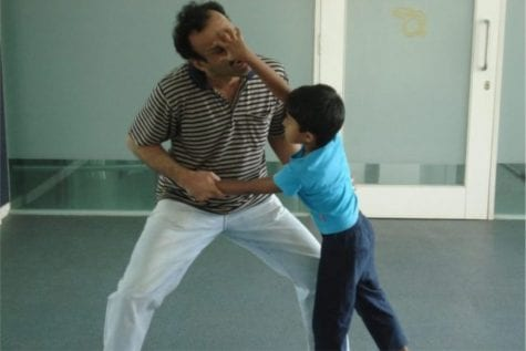 Kid self Defence move