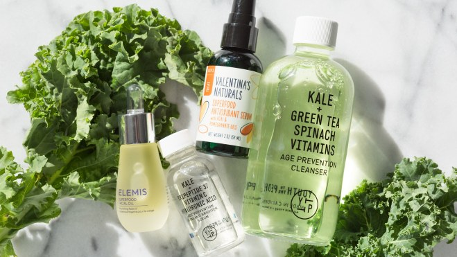 Image for Green-Juice Lovers, You're Going to Love This Superfood Skin-Care Trend