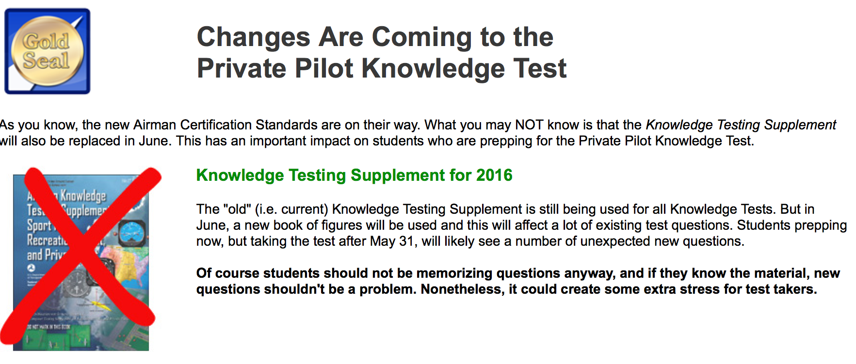 Get Ready New Faa Knowledge Tests June 13th Aviation Ideas And