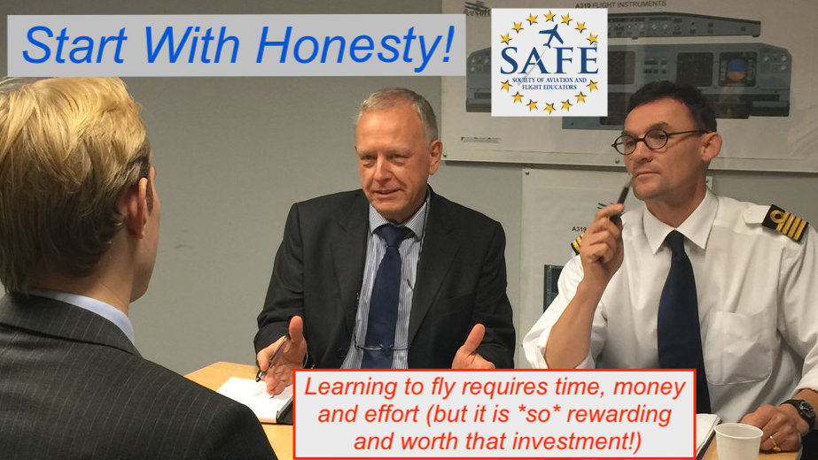 Start With Basic Honesty!