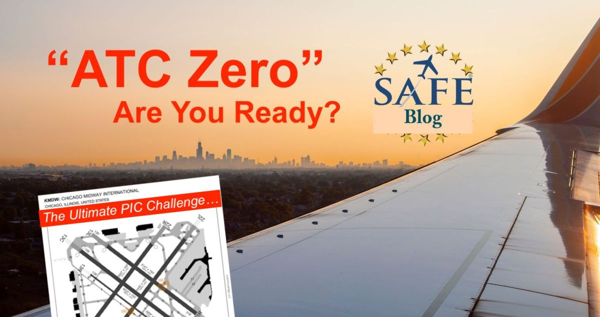 "Brief and Understand ""ATC ZERO""!"