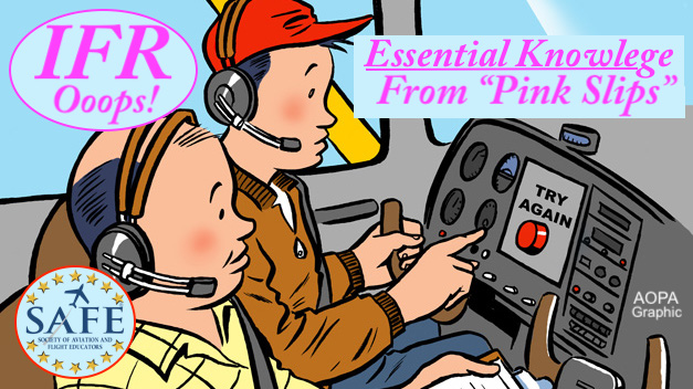 """Pink Slip"" Problems (IFR)"