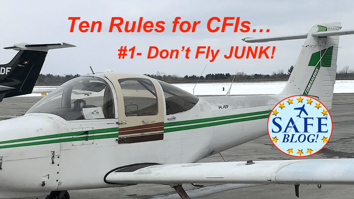 10 Essential Rules for New CFI!