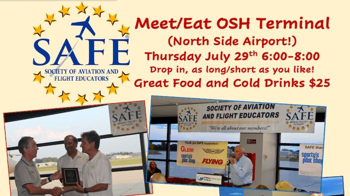 SAFE Dinner is ON; Celebrate Aviation's Return!